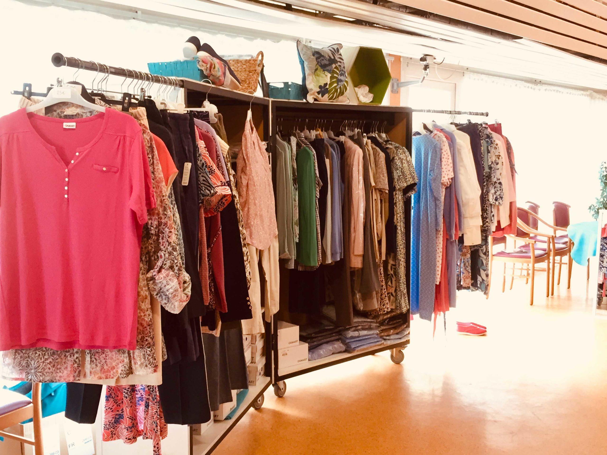 La boutique éphémère dans les EHPAD et les maisons de retraite