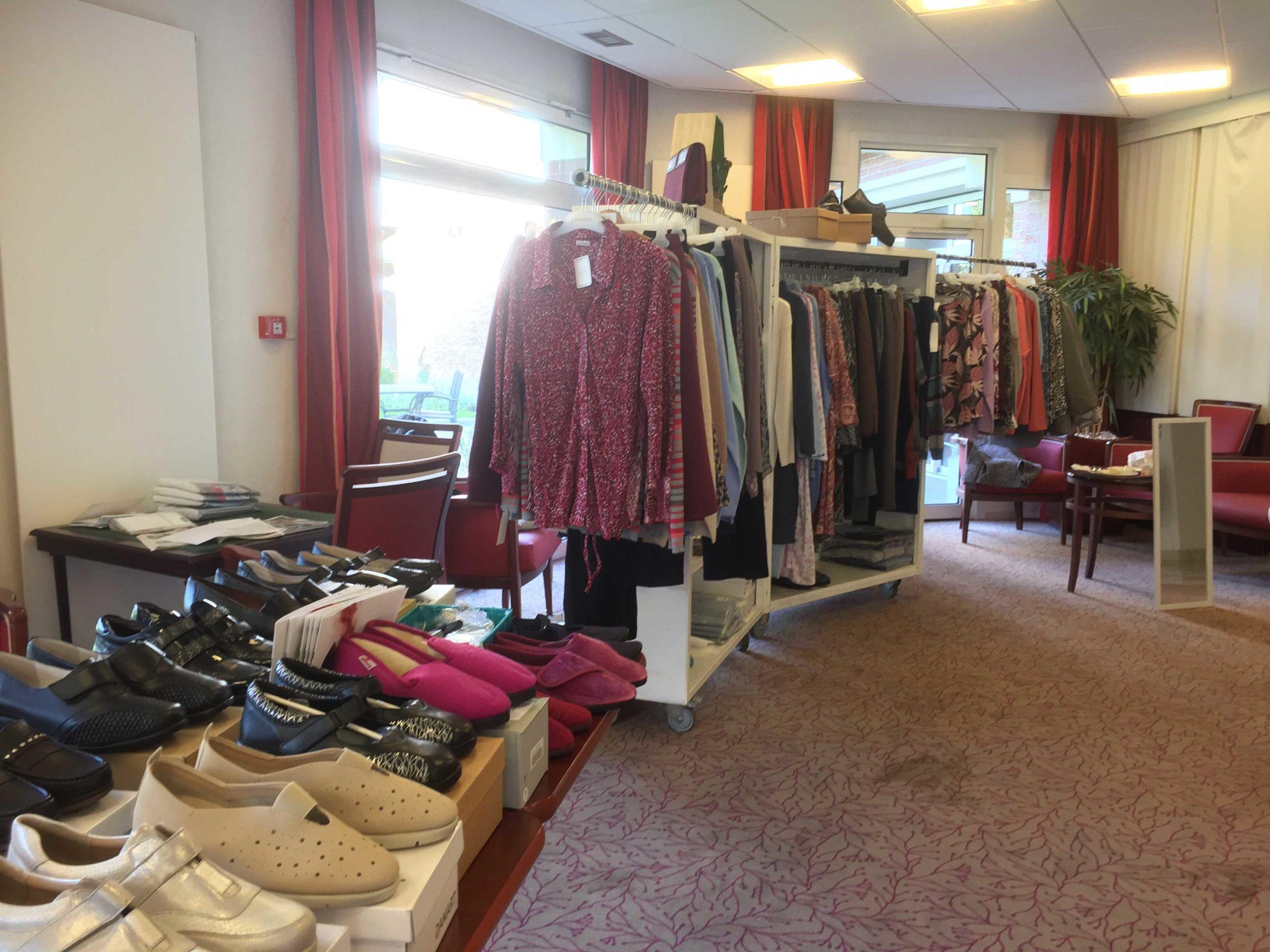 La boutique pop-up dans les EHPAD et les maisons de retraite