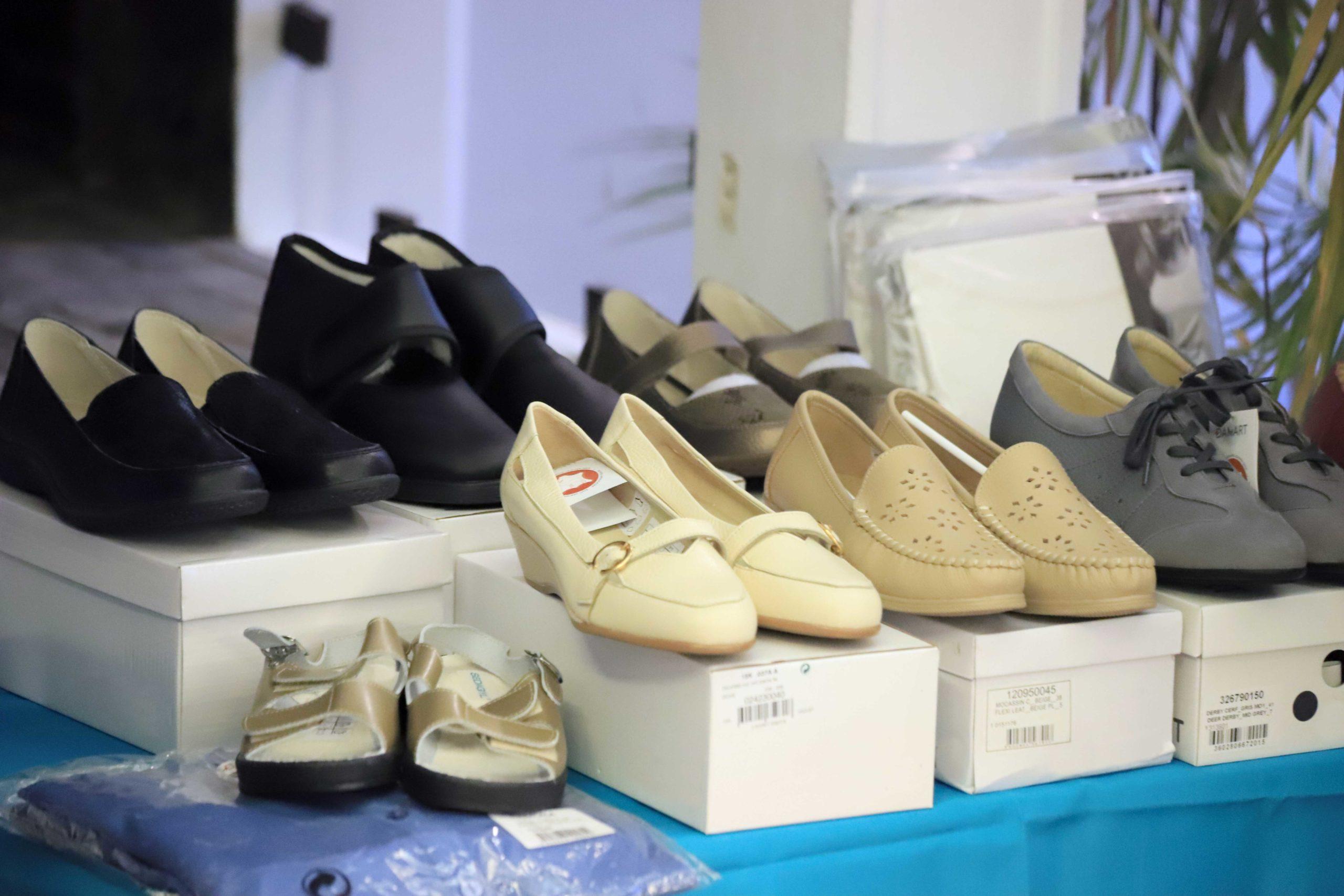 Boutique chaussures adaptées